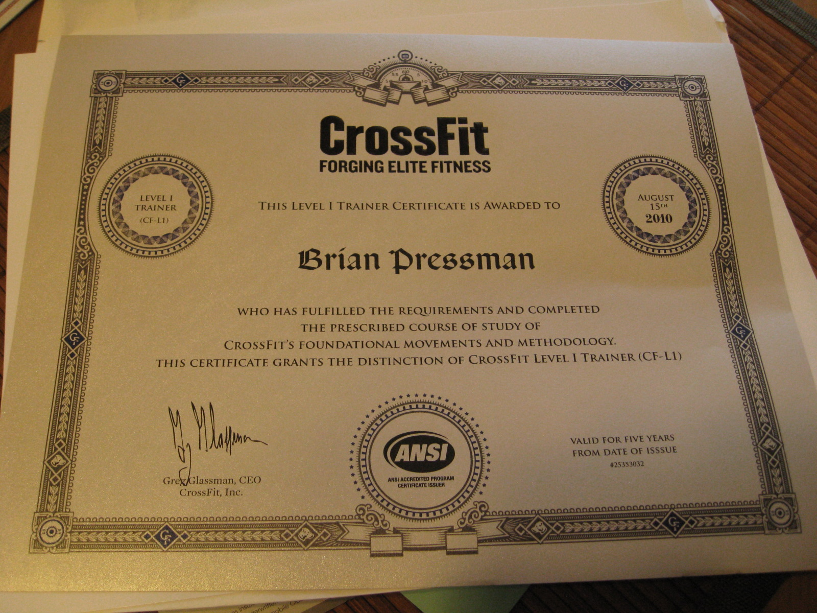 New crossfit certification pressmans hawaii blog share xflitez Images